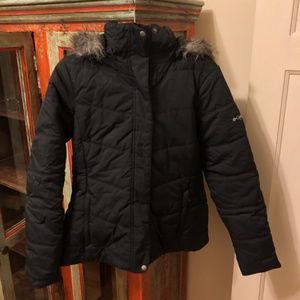 Columbia Woman's Winter Coat (Black)